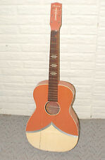Vintage Harmony Carribbean Project Guitar U Fix Luthier Parts Stella Parlor WOW
