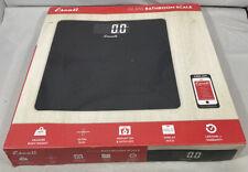 Escali B200B Glass Platform Bathroom Body Scale, Low Profile,LCD Digital Display