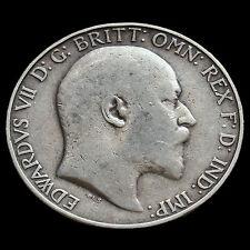 1905 Edward VII Silver Florin – Rare – Fine #3