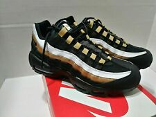 d9192a640c Size Mens 6.5 Womens 8 Nike Air Max 95 OG AT2865-002 Black Metallic Gold
