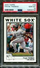 2004 TOPPS #49 FRANK THOMAS WHITE SOX HOF PSA 10 B3066679-124