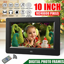 10inch Digital Photo Frame Cloud Share Picture Video Instantly HD Remote Control