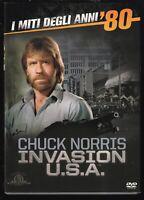 EBOND Invasion U.S.A. con Chuck Norris  SLIPCASE DVD D569855