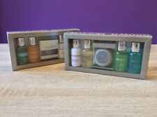 Molton Brown Essentials Travel Gift Set. 4x 30ml & Soap, Body Wash, Lotion, Hair