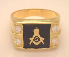 Diamante Masonic 18k Rings for Men