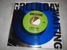 "Green Day Waiting/Maria DARK BLUE VINYL 7"" Record non warning lp song! punk NEW!"