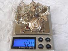 Job Lot Vintage Sterling Silver Jewellery scrap/repair 42.0 Grams