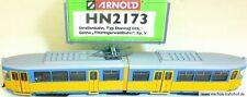 Duewag Gt6 Straßenbahn Gotha  DSS EpV ARNOLD HN2173 N 1:160 HR5 µ  *