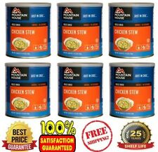 Mountain House ~ Chicken Stew ~ 6 #10 Cans ~ Emergency Long Term Food Storage