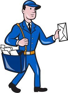 30 Custom Mailman Personalized Address Labels