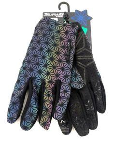 Supacaz SupaG Full Finger Cycling Gloves Oil Slick Adult Extra Large XL