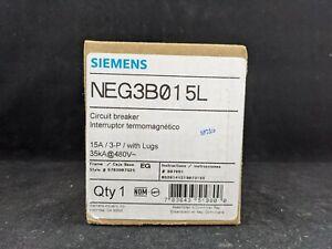 Siemens NEG3B015L NEG 15A 3P 35KA MCCB