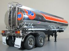 Custom Tamiya R/C 1/14 Semi 76 Fuel Gas Tank Trailer Tanker +Motorized Leg 56505