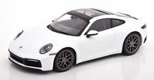 1:18 Minichamps Porsche 911 (992) Carrera 4S 2019 white