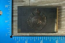 Vintage Ww1 Canada Royal Engineers Matchbox Cover Honi Soit Qui Mal Pense 99B