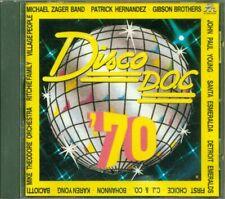 Disco D.O.C. '70 - Patrick Hernandez/Santa Esmeralda/Village People Cd Ottimo