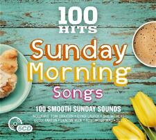 100 HITS - SUNDAY MORNING SONGS - VARIOUS ARTISTS -  (NEW SEALED 5CD)