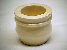 Old Antique Primitive Terrine Brevetee SGDG Stoneware Pate Bowl Simplex France