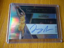 2017-18 PANINI SELECT AUTO LARRY NANCE JR. L.A. LAKERS 133/199