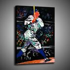 Print Painting Home Wall Art Decor LeRoy Neiman Babe Ruth Baseball  Canvas 16x22