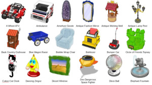 Webkinz online items virtual RETIRED EXCLUSIVE ITEMS - You Choose
