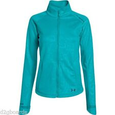 2016 NWT Under Armour UA ColdGear Softershell Womens Jacket S Small Neptune At37