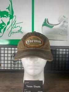 Corona Cerveza Extra Beer Alcohol Brown Hat Cap Drinking
