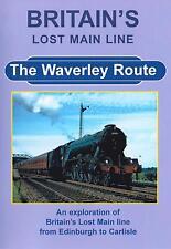 Britain's Lost Main Line Dvd: Waverley Route Edinburgh Carlisle A2 A3 A4 B1 D34