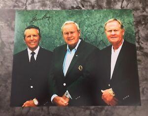 GFA Golf PGA Champion GARY PLAYER Signed 11x14 Photo PROOF AD1 COA
