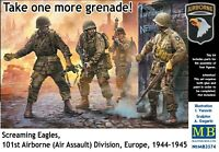 Master Box MB 1/35 3574 WWII US Screaming Eagles 101st Airborne Division (4 Fig)
