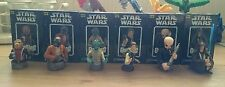 Gentle giant star wars Bust-ups series 6 cantina set complete - Han Solo,Obi Wan