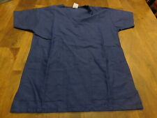 Medline Blue Scrub Top Men's Size Small (36)