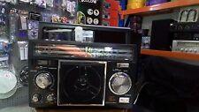 VINTAGE BOOM BOX BLUETOOTH AUX IN MP3 FM/AM RADIO USB/SD MUSIC PLAYER