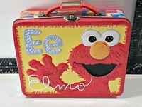 Sesame Street ELMO'S WORLD Tin Metal Lunch Box 2011