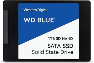 WD Blue WDS100T2B0A SSD 1 TB 2.5' Sata III 6 Gb/s write 530MB/s read 560MB/s