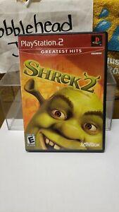 CIB SHREK 2 PS2 SONY PLAYSTATION 2 VIDEO GAME >>GREATEST HITS