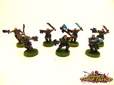 WARHAMMER 40k SPACE MARINE LUPI WOLF SCOUTS Classic Metal OOP Painted x 7