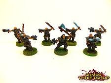Warhammer 40k Space Marine Lobos Wolf Scouts Classic Metal fuera Pintado X 7