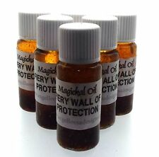 Fiery Wall Of Protection Herbal Infused Botanical Incense Oil