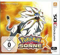 Nintendo 3DS Spiel - Pokémon Sonne DE/EN mit OVP