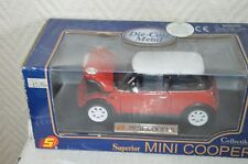 VOITURE  MINI COOPER BMW  AUSTIN COLLECTION DIE CAST CAR NEUF 1/24 SUNNYSIDE