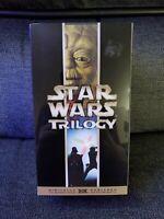 Star Wars Original Trilogy THX Digitally Remastered VHS Box Set (2000) **USED**