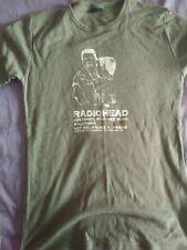 Radiohead-Green T-Shirt Customer Focused Music Solutions W.A.S.T.E. L RARE