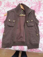 Manteaux, vestes et tenues de neige gilet marron pour fille de 2 à 16 ans