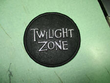Twilight Zone Old 1950 TV Television Series Patch Embroidered Sewn Custom
