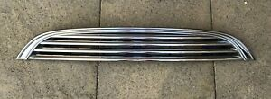 R50 R52 R53 Mini Cooper S One & Mini Convertible Chrome Bonnet Front Grille