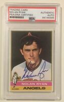 1976 Topps NOLAN RYAN Signed Autographed Baseball Card PSA/DNA #330