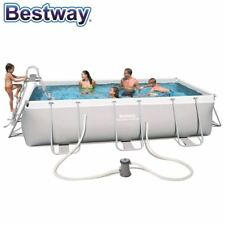 Bestway Power Steel Frame Pool 404x201x100cm