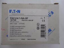 EATON, FAZ-C4/1-NA-SP, CIRCUIT BREAKER, 1P, 4A, C, 277VAC.