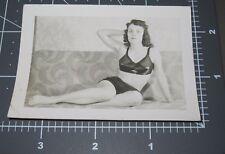 Housewife Model Homemade Porn Erotica Sexy Woman Bra Vintage Snapshot PHOTO